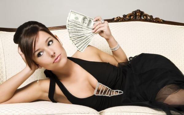 Donna ricca con guadagni online Adult