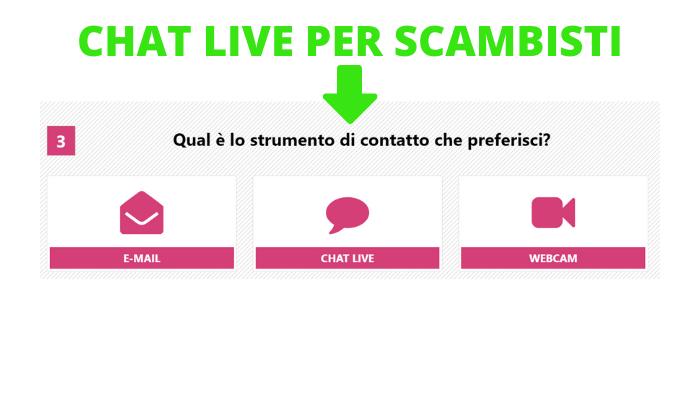 chat live per scambisti