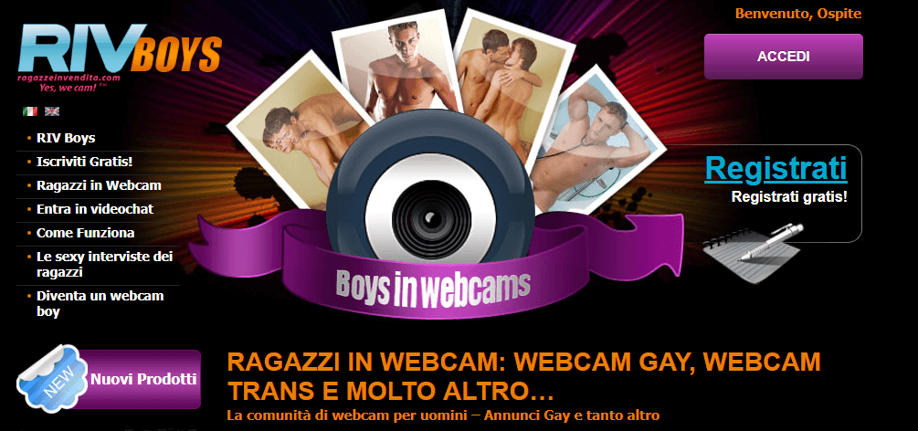 RIV Boys chat per Cam Boy