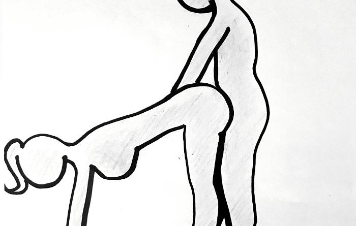 penetrazione con posizione alla cavallina