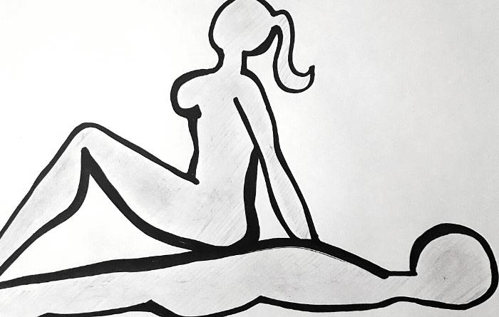 posizione dello smorza candela di spalle