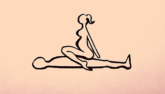 La posizione della CowGirl