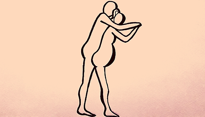 posizione in gravidanza dell'agguato
