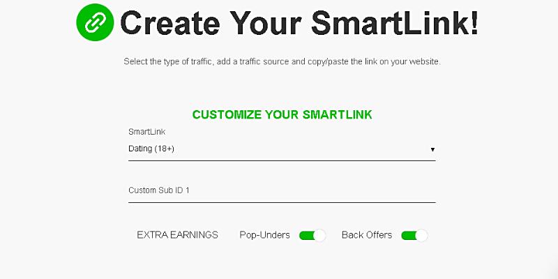 Create your Smartlink