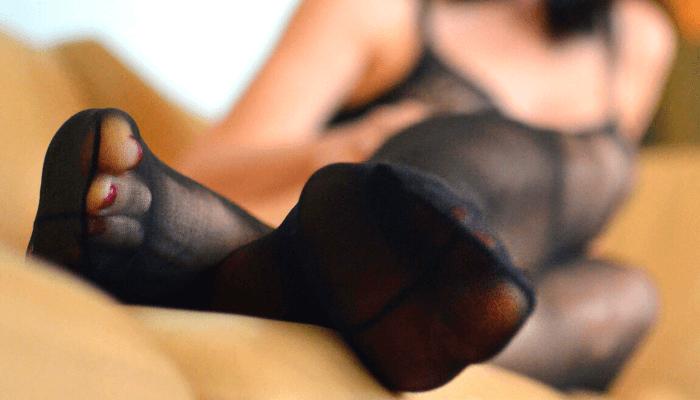 feticismo calze