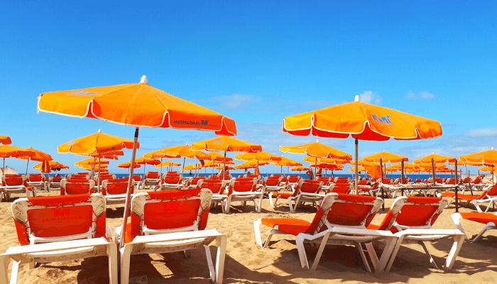spiagge scambiste Maspalomas