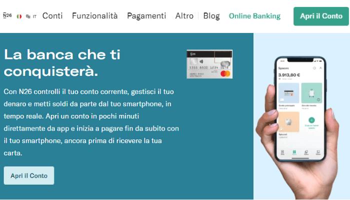 carta di credito N26
