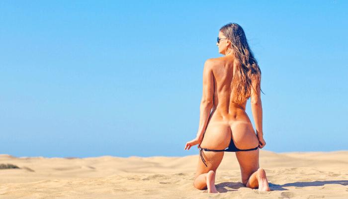 spiagge per scambisti al sud