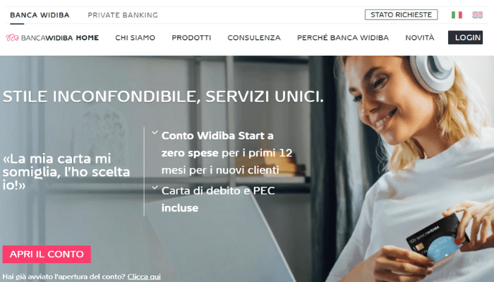 sito carte credito